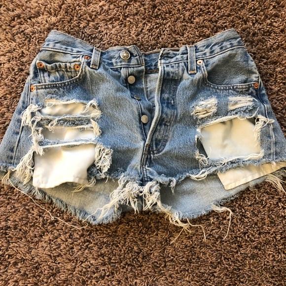 Levi vintage shorts,size:28